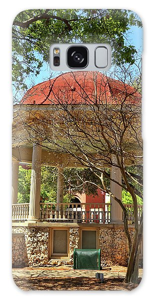 Comal County Gazebo In Main Plaza Galaxy Case