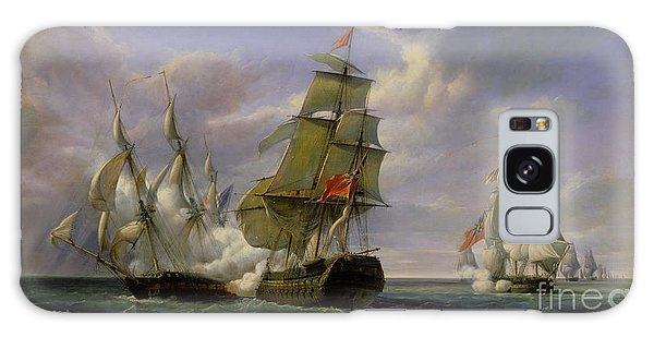 Combat Between The French Frigate La Canonniere And The English Vessel The Tremendous Galaxy Case