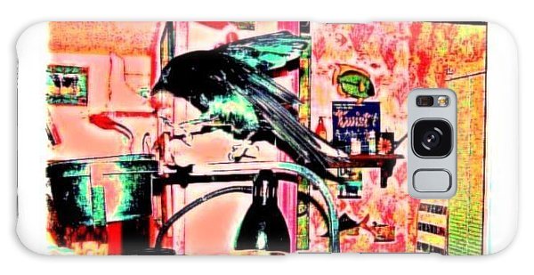 Crow Dance Galaxy Case by YoMamaBird Rhonda