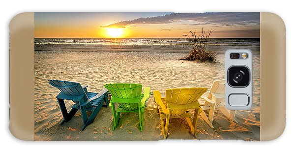 Adirondack Chair Galaxy Case - Come Relax Enjoy by Marvin Spates