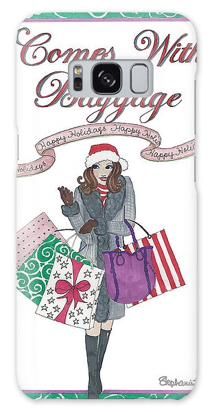 Comes With Baggage - Holiday Galaxy Case