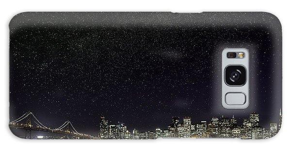Comet Over San Francisco Galaxy Case