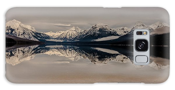 Lake Mcdonald Glacier National Park Galaxy Case