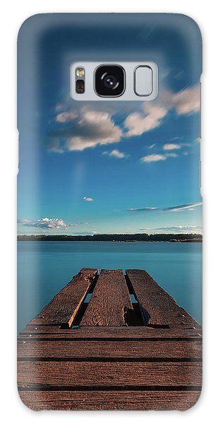 Galaxy Case featuring the photograph Comfortably Numb by Davor Zerjav