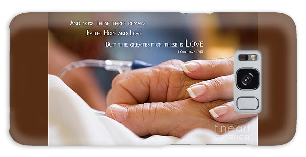 Comforting Hand Of Love Galaxy Case