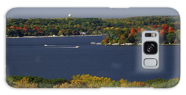 Coming And Going - Lake Geneva Wisconsin Galaxy Case