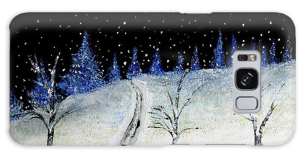 Coming Home For Christmas Galaxy Case