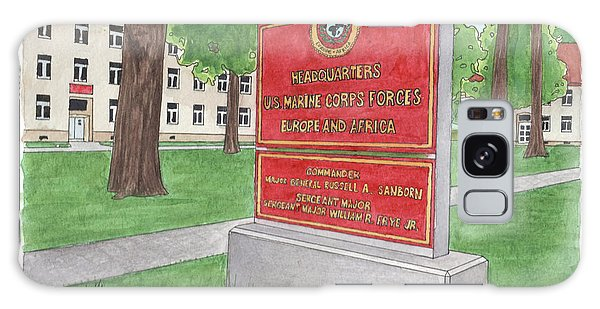 Commander Major General Russell A. Sanborn - Marforeuraf Galaxy Case