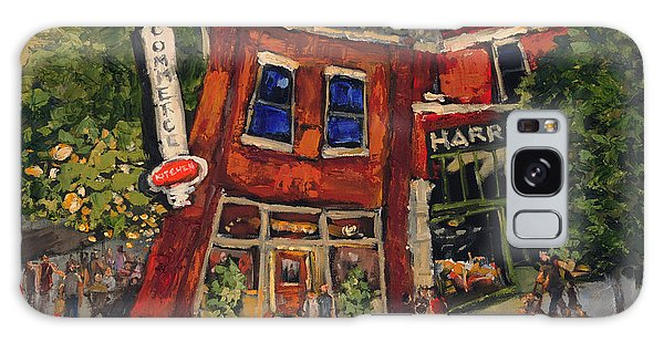 Commerce Kitchen Huntsville Alabama Galaxy Case by Carole Foret