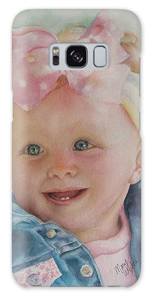 Commissioned Toddler Portrait Galaxy Case