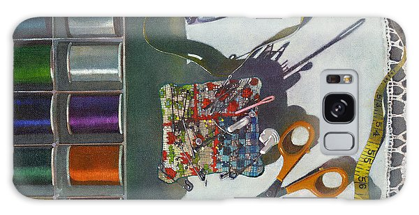 Galaxy Case featuring the painting Common Thread by John Dyess