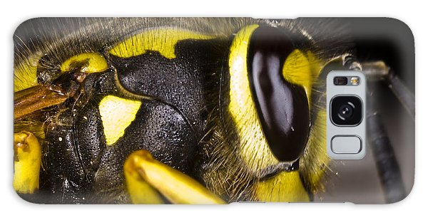 Common Wasp Vespula Vulgaris Close-up Galaxy Case by Gabor Pozsgai
