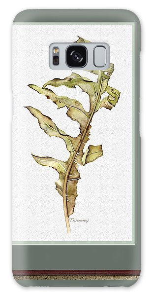 Compass Plant, Fall Galaxy Case by Catherine Twomey