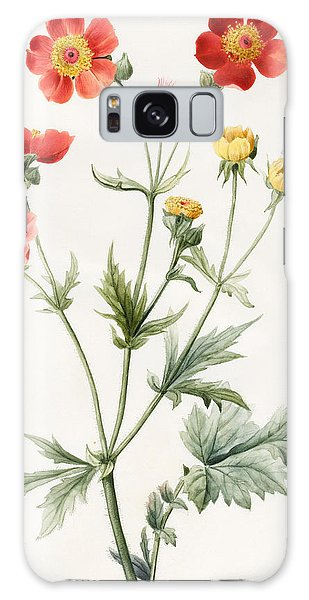 Plants Galaxy Case - Composite by Louise D'Orleans