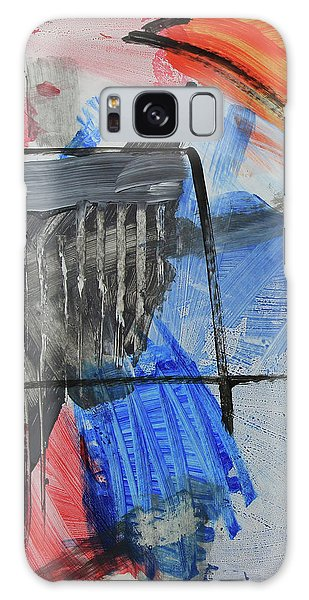 Composition 20188 Diptych Left Panel Galaxy Case