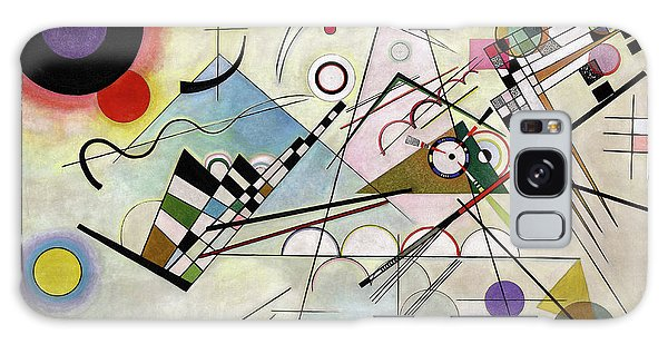 Office Galaxy Case - Composition 8 by Wassily Kandinsky