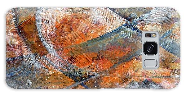 Composition Hieroglyphe Galaxy Case by Walter Fahmy