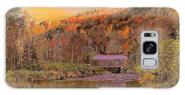 Comstock Bridge Galaxy Case by John Selmer Sr
