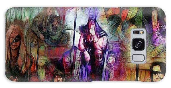 Conan The Barbarian Collage - Square Version Galaxy Case