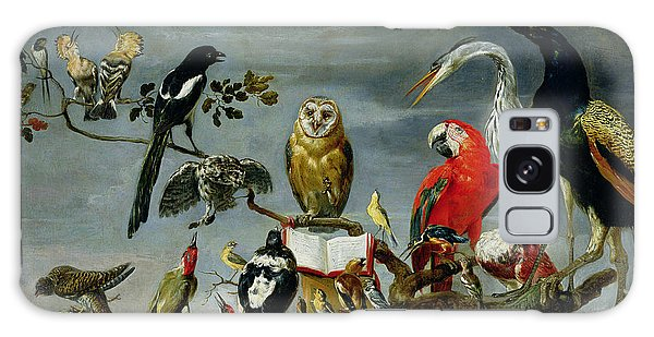 Concert Of Birds Galaxy Case