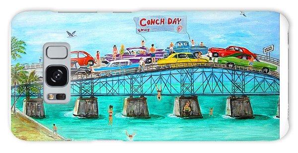 Conch Day Galaxy Case
