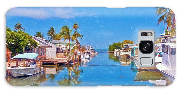 Conch Key Waterfront Living 3 Galaxy Case