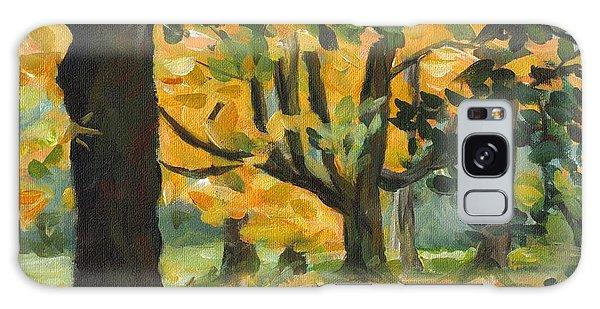 Concord Fall Trees Galaxy Case