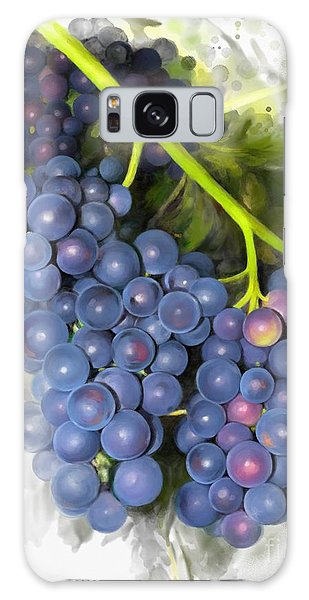 Galaxy Case featuring the painting Concord Grape by Ivana Westin