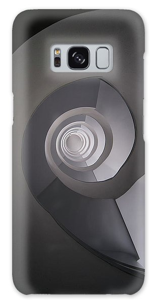 Concrete Abstract Spiral Staircase Galaxy Case by Jaroslaw Blaminsky