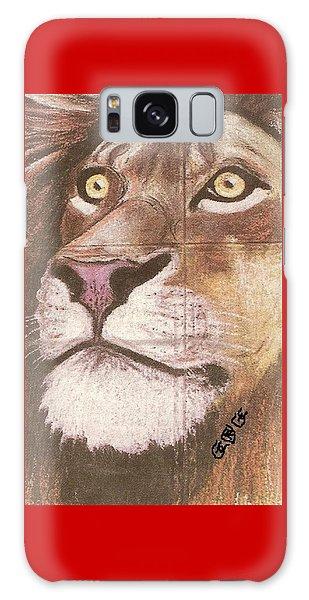 Concrete Lion Galaxy Case