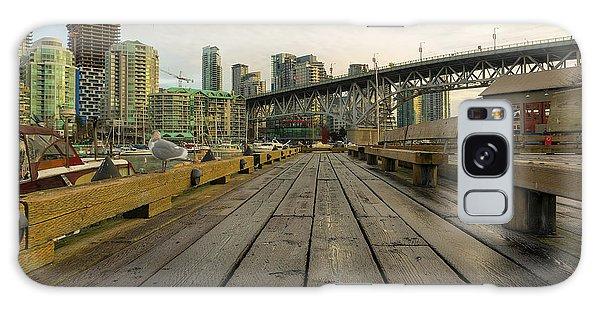 Condominium Buildings Along Granville Island Vancouver Bc Galaxy Case