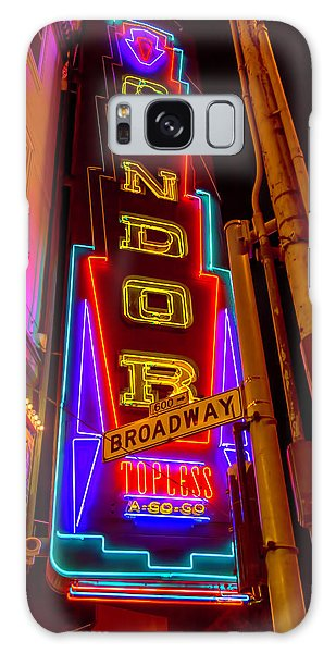 Condor Galaxy S8 Case - Condor Neon On Broadway by Garry Gay