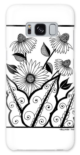 Cone Flower Galaxy Case