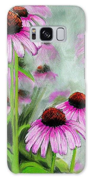 Coneflowers In The Mist Galaxy Case