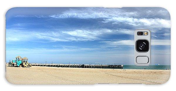 Coney Island Beach Galaxy Case