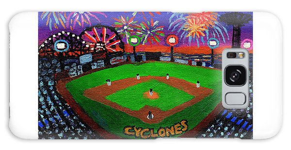Coney Island Cyclones Fireworks Display Galaxy Case