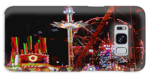 Coney Island Opening Day In Brooklyn New York Galaxy Case