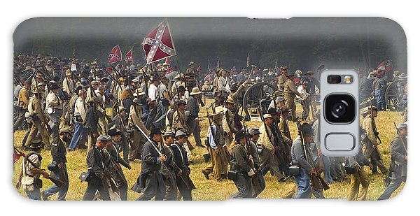 Impression Galaxy Case - Confederate Charge At Gettysburg by Paul W Faust -  Impressions of Light
