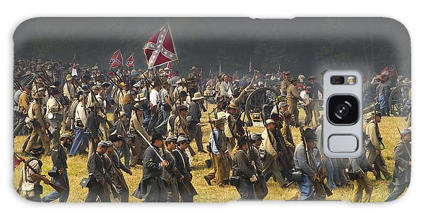 Confederate Charge At Gettysburg Galaxy Case
