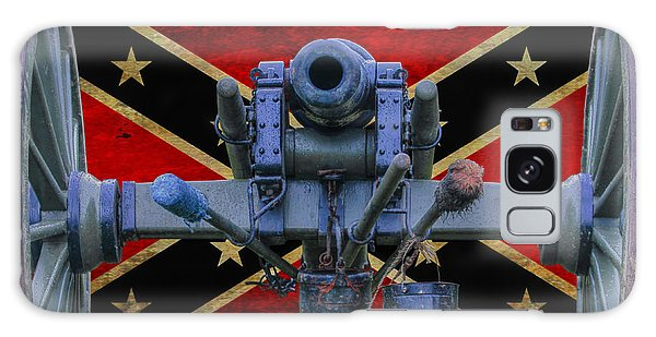 Confederate Flag And Cannon Galaxy Case