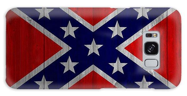 Confederate Flag Barn Door Galaxy Case