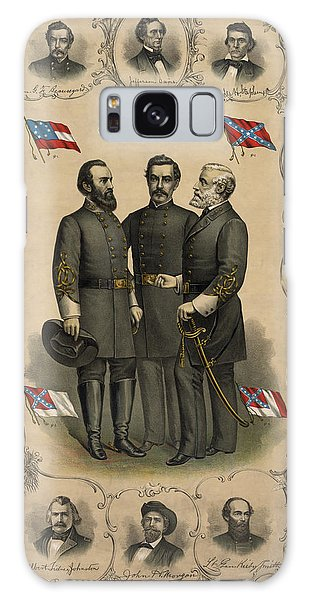 Hero Galaxy Case - Confederate Generals Of The Civil War by War Is Hell Store