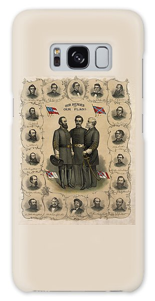 Patriotic Galaxy Case - Confederate Generals Of The Civil War by War Is Hell Store
