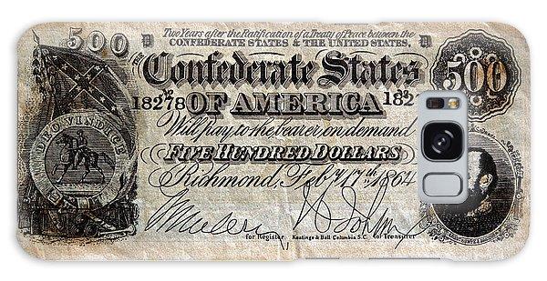 Confederate Money Galaxy Case