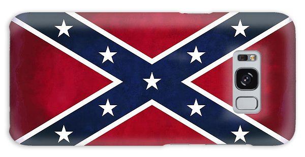 Battle Galaxy Case - Confederate Rebel Battle Flag by Daniel Hagerman