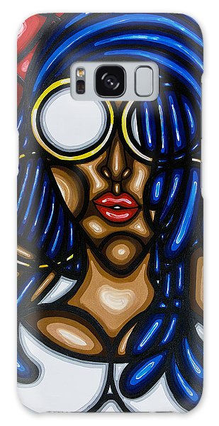 Galaxy Case featuring the painting Confidence  by Aliya Michelle