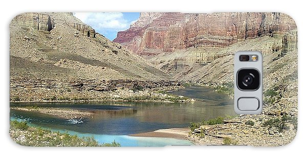 Confluence Of Colorado And Little Colorado Rivers Grand Canyon National Park Galaxy Case