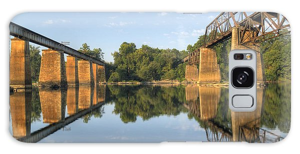 Congaree River Rr Trestles - 1 Galaxy Case