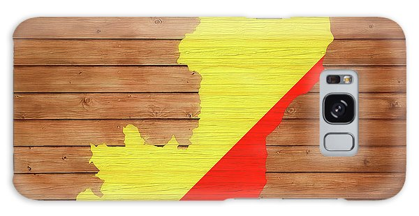 Traveler Galaxy Case - Congo Rustic Map On Wood by Dan Sproul