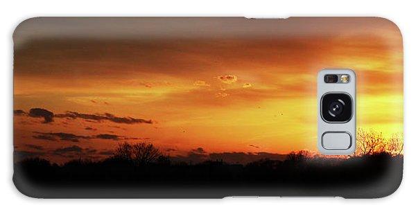 Connecticut Sunset Galaxy Case by Gordon Mooneyhan